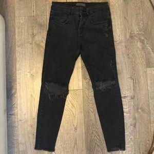 ZARA Skinny Carrot Fit Jeans